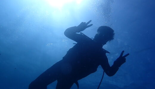 ダイビング日和は続くのだ。